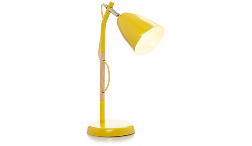 Yellow Gloss Finish Desk Lamp