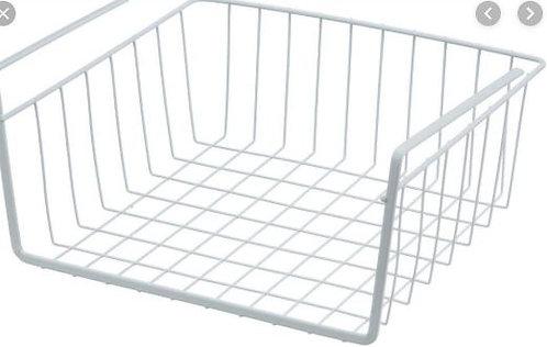 Under Shelf Storage Basket, White – George Home