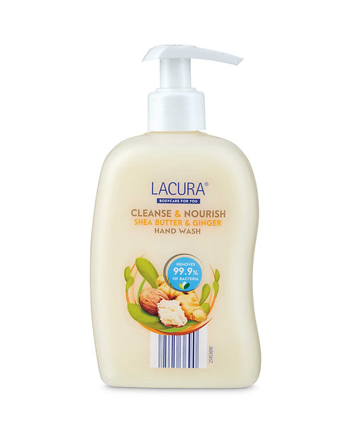 Cleanse & Nourish Shea Butter & Ginger Hand Wash, 300ml – Lacura