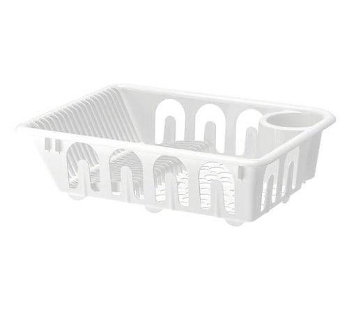 FLUNDRA Dish Drainer, White – IKEA