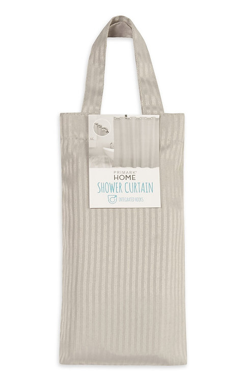 Grey Luxury Shower Curtain