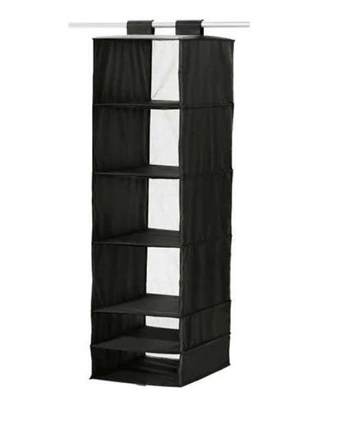 SKUBB 6 Compartments Storage, Black- IKEA