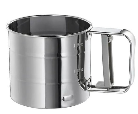Everrich Stainless Steel Flour Sifter Silver 132g
