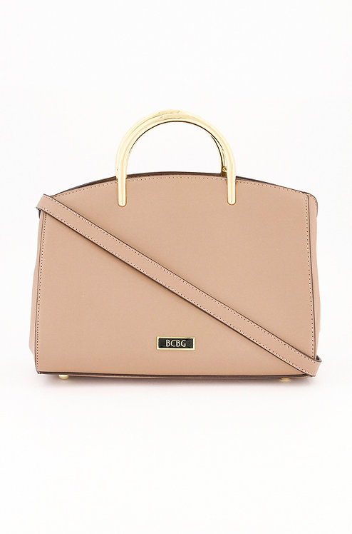 Women's Elyse Satchel, Taupe by BCBGeneration
