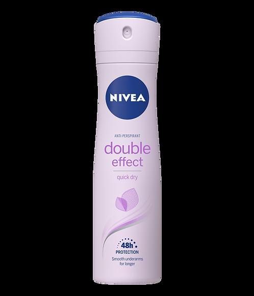 Double Effect Antiperspirant Spray, 150ml – Nivea