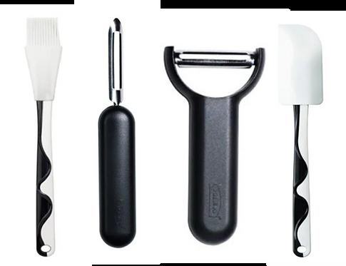Kitchen Tools 4-Piece Combo, Black – IKEA