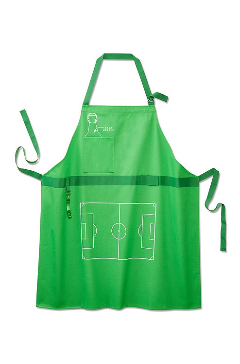 Barbeque Apron, Green