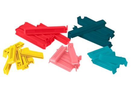 BEVARA Sealing Clips, Set of 30 Assorted Colours/Sizes, IKEA