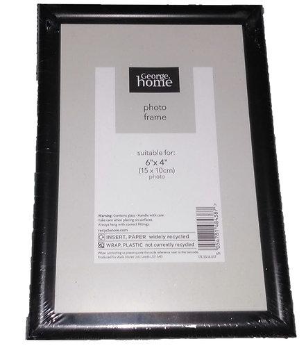 Black Frame 6″ x 4″, George Home
