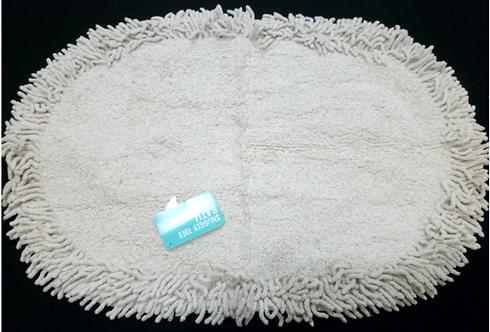 Lurex Cream Bath Mat