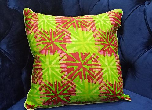WASE Ankara Cushion Cover, 40×40 cm by Debb's Home