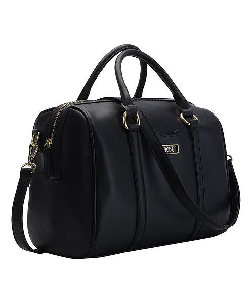 Virginia Satchel Barrel Bag, Black by BCBGeneration