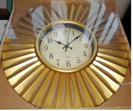 Gold Decorative Wall Clock, 40cm