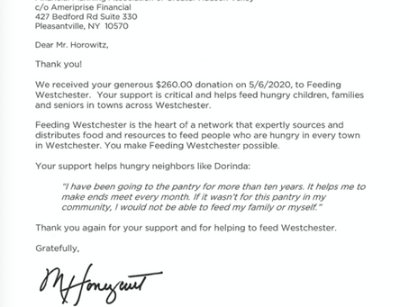 Your Donation Made an Impact!