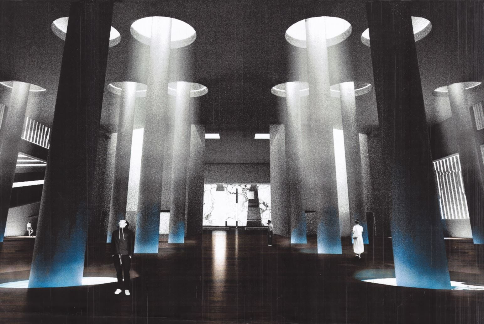 Hall of Projections