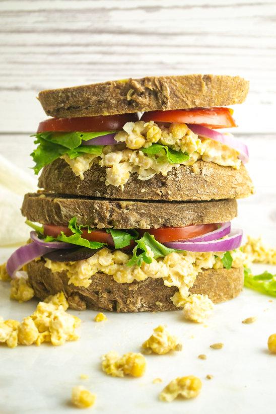 chickpea sandwich