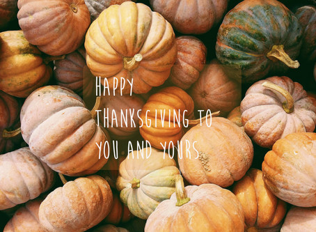 What are your Thanksgiving plans?