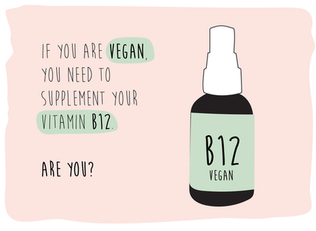 If you are vegan, are you supplementing your B12?