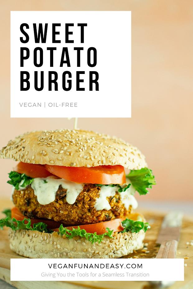 sweet potato burger pin