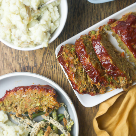 Holiday Lentil Loaf