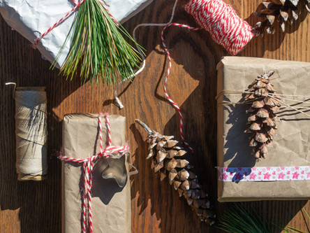 Sustainable and Eco-Friendly Gift Wrapping.