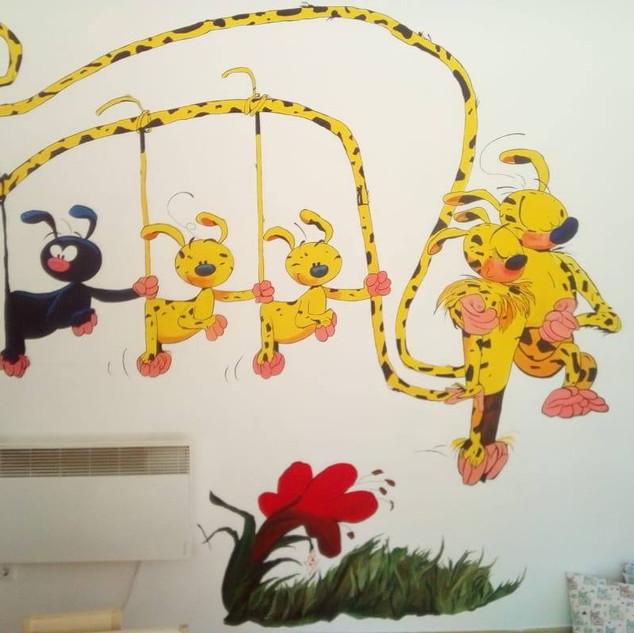 új falfestmény