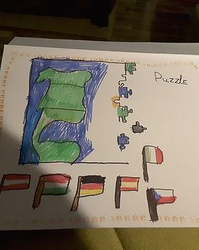Kati Blanka 9 éves (zászlós_kontinenses_