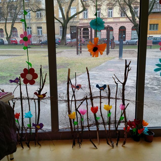 tavaszi pavilon