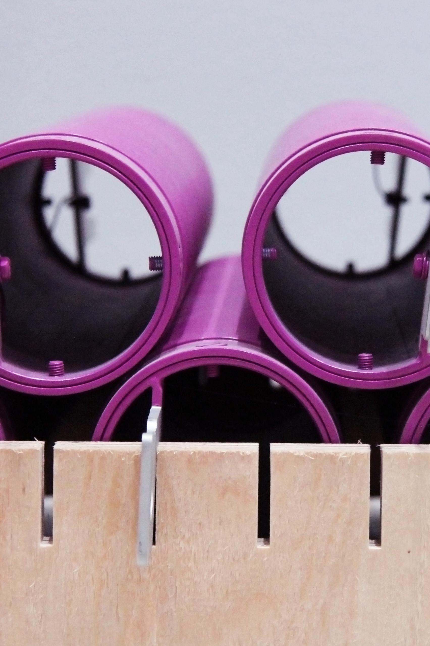 Purple tubes