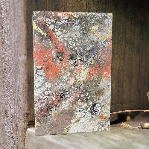 Bursting Rays Acrylic Painting