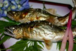 天然鮎塩焼き
