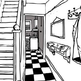 Winnie's hallway