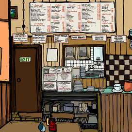 a greasy spoon cafe in Leeds