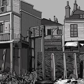1930s dockside