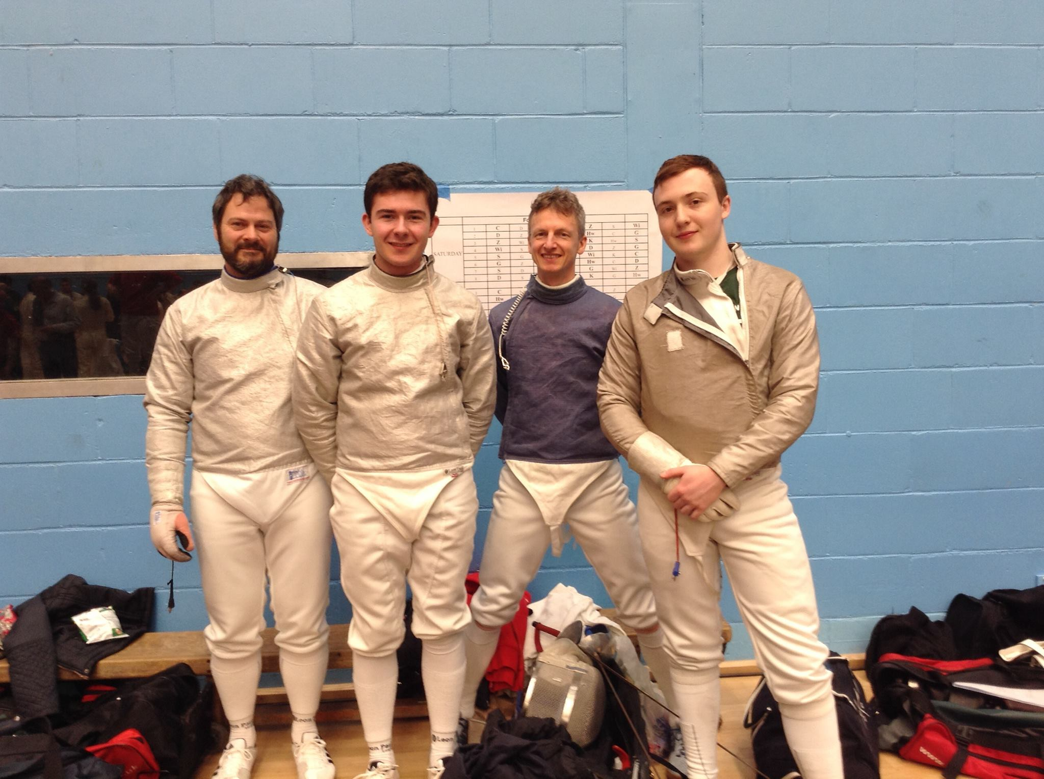 Excalibur Men's Sabre Team 2015