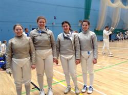 Ladies Sabre Team