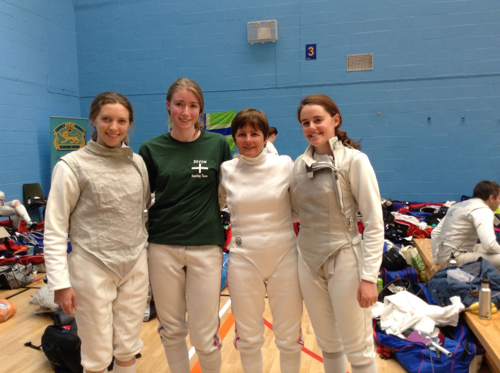 Excalibur Women's Foil Team