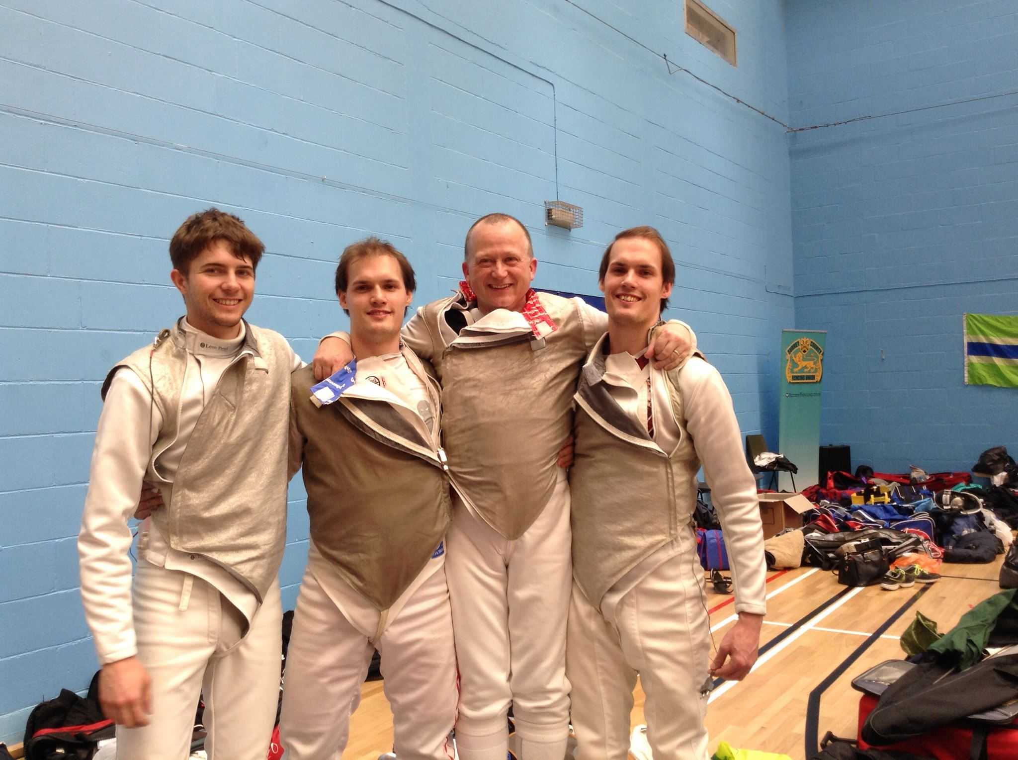 Excalibur Men's Sabre Team