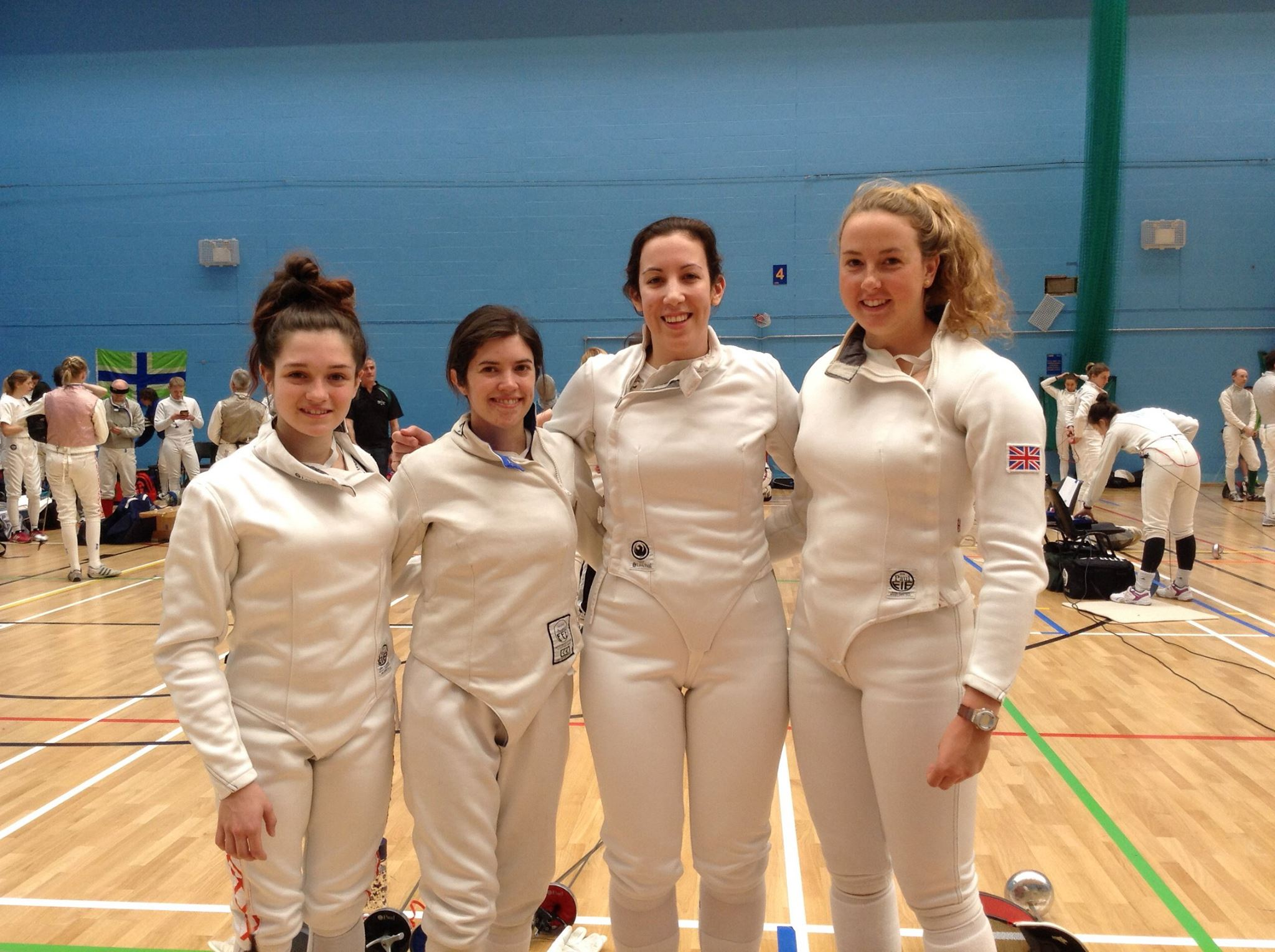 Excalibur Women's Epee Team 2015