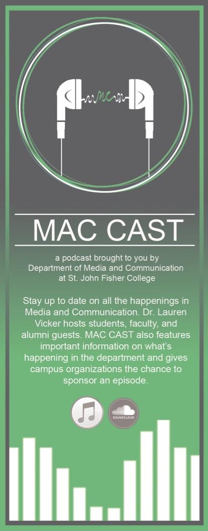 MAC CAST Bookmark