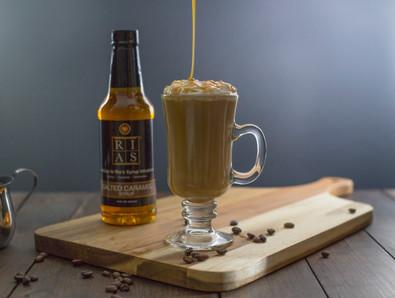 Rias Caramel Syrup