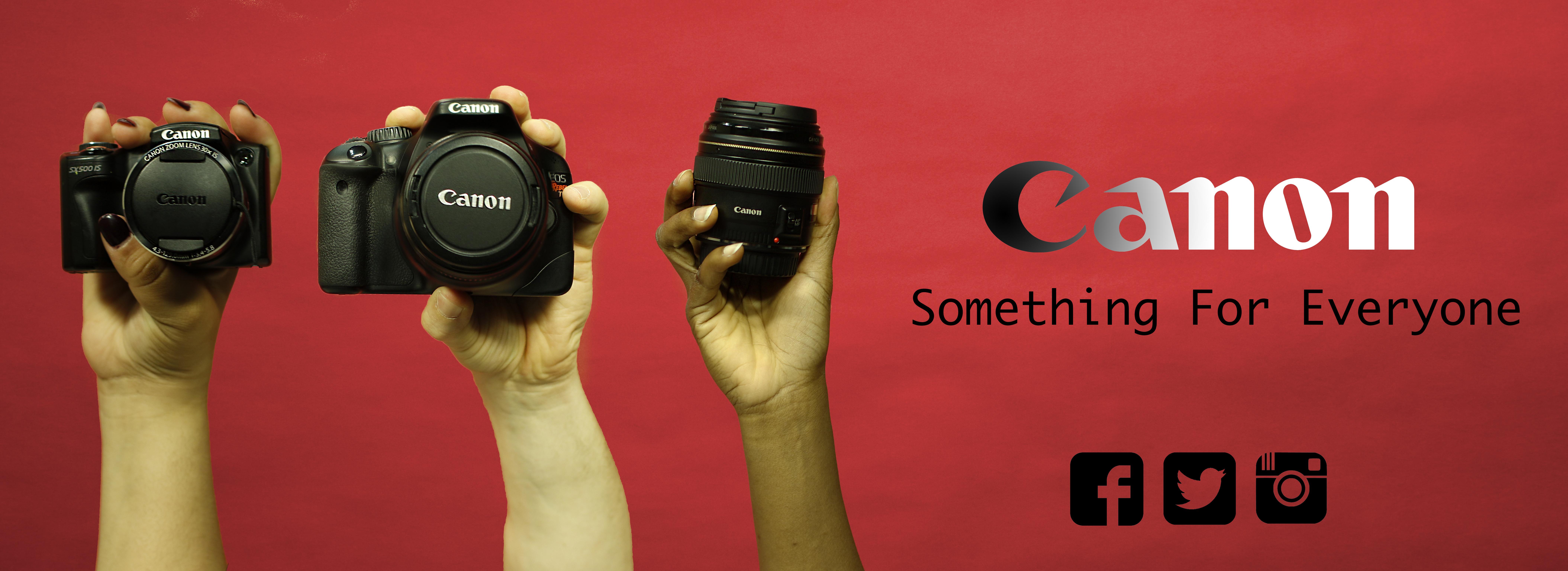 Mock Ad Campaign for Canon