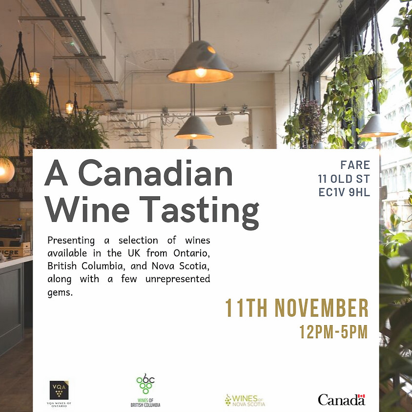 A Canadian Wine Tasting