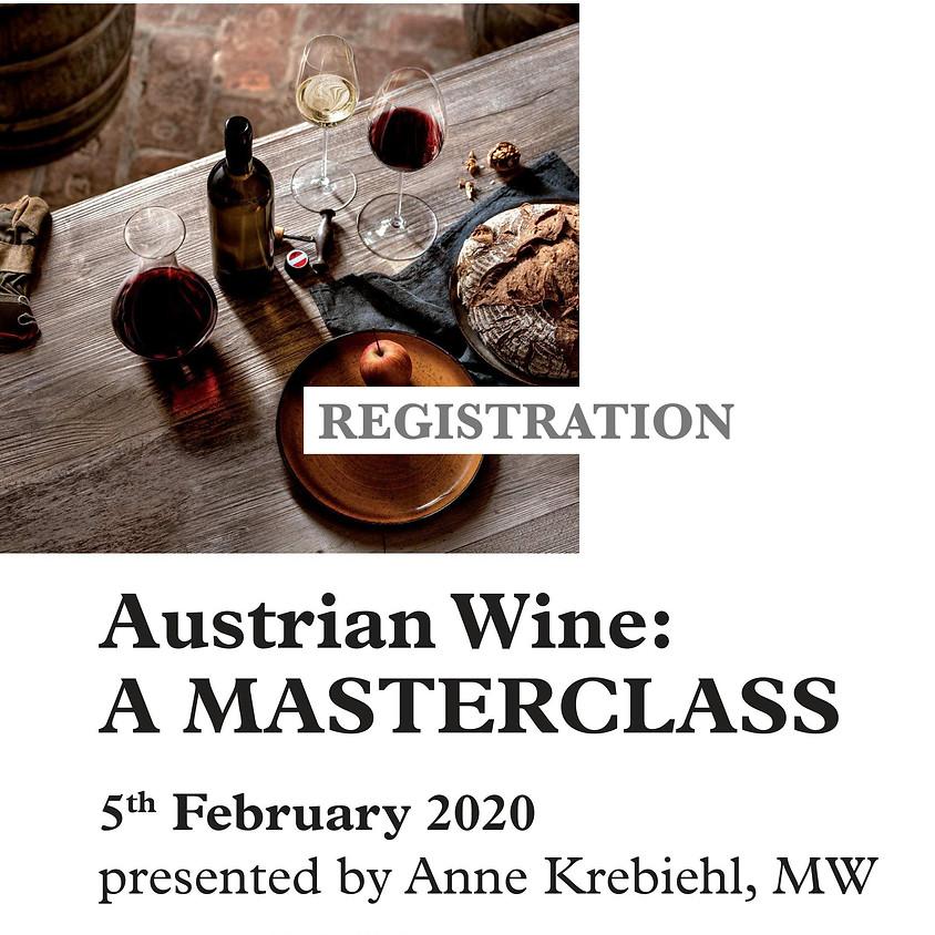 Austrian Wine: Edinburgh Masterclass