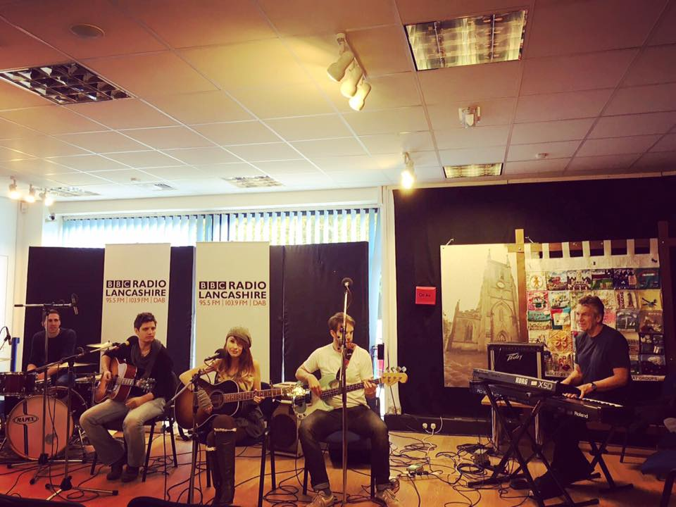Live BBC radio session!