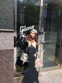 Gibson in NYC.