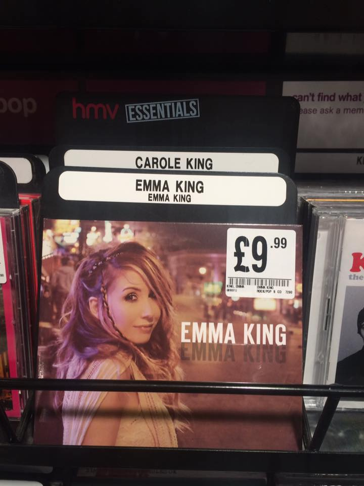 In good company at HMV!