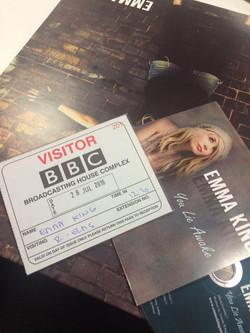 Radio interview at BBC London!