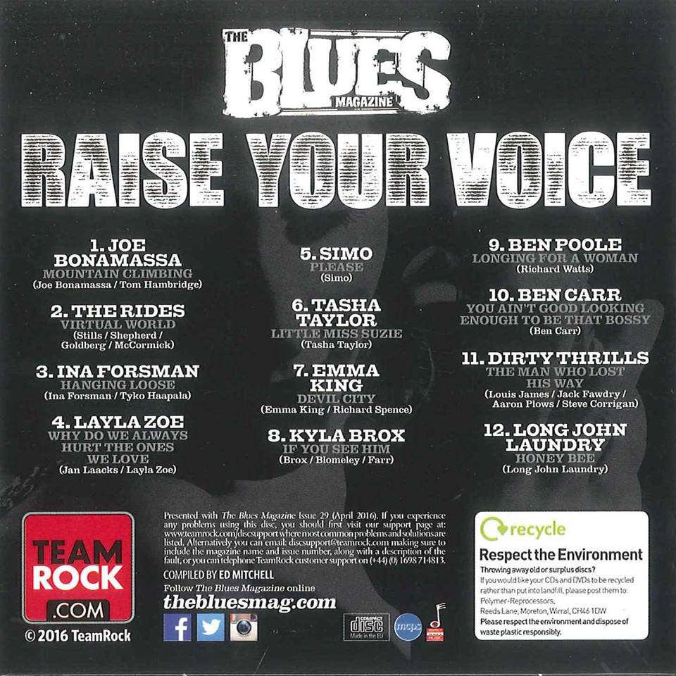 The Blues Magazine [CoverMount]