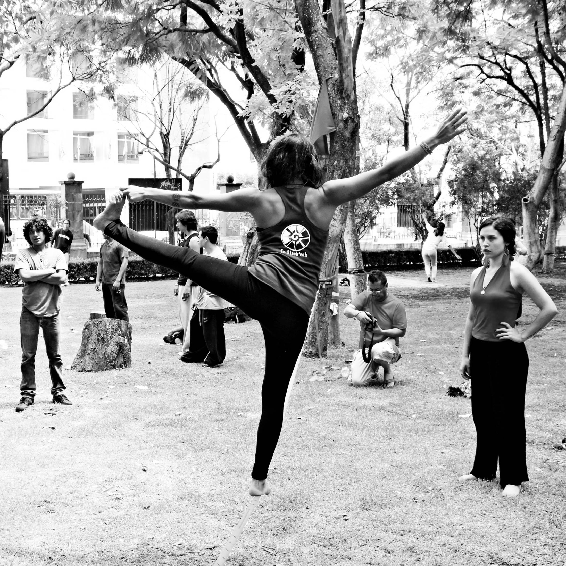 Yoga Slackline